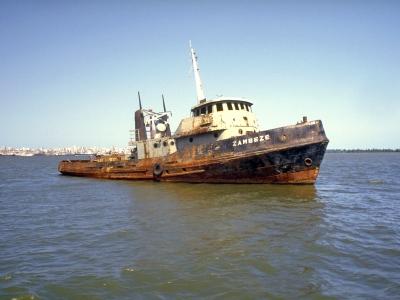 Shipwreck name: Zambezi