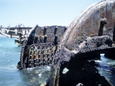 Shipwreck name: Unknown (Saldanha bay)